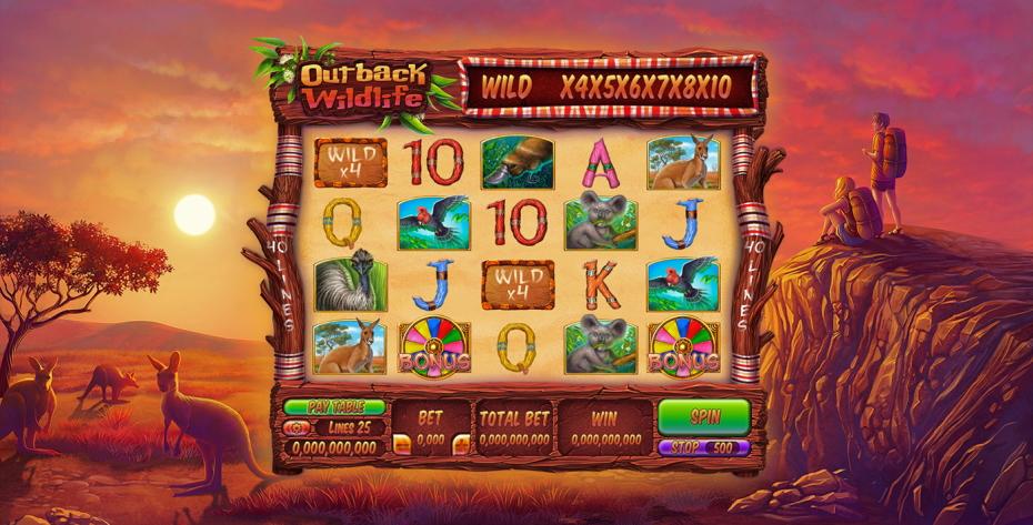 Few top wildlife-themed slot machines